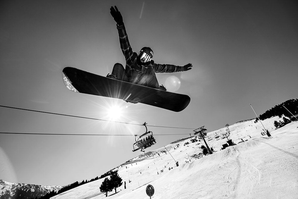 Chechu Arribas and his vision of Snowboarding