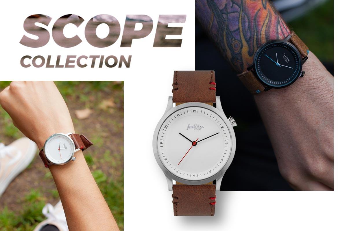 Relojes The Indian Face unisex serie Scope