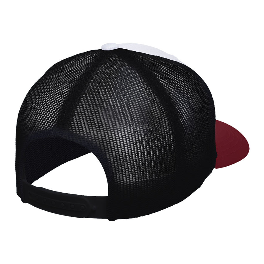 Gorra Free Soul White red and black