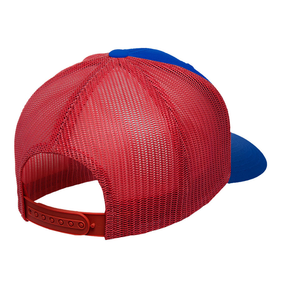 Gorra Born to Windsurf Blue and red