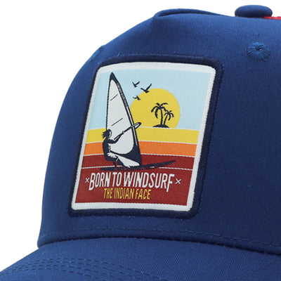 Born to Windsurf Blue and red