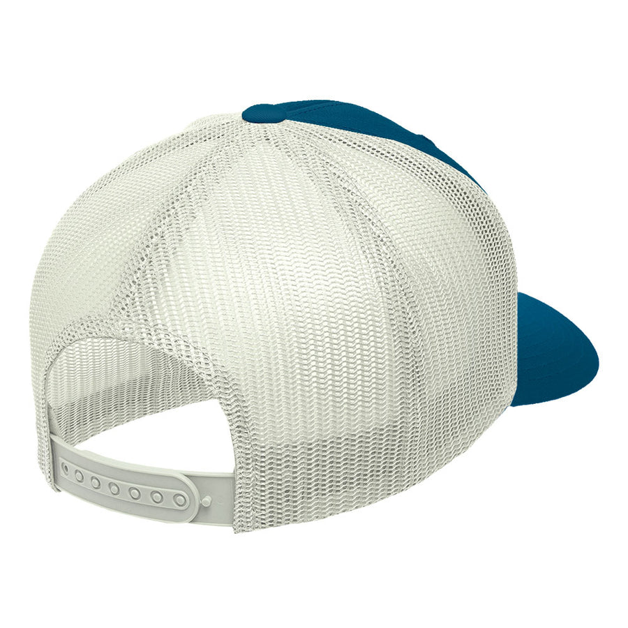 Gorra Born to Windsurf Blue and white