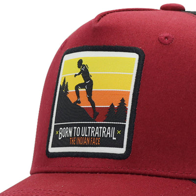 Born to Ultratrail Red and black