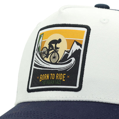 Born to Ride White and blue
