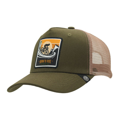 Gorra Born to Ride Green