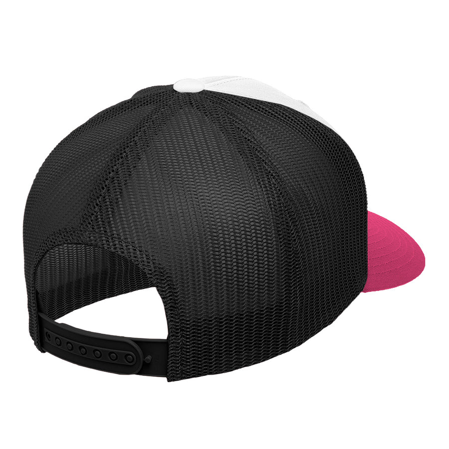 Born to Snowboard White / Pink / Black