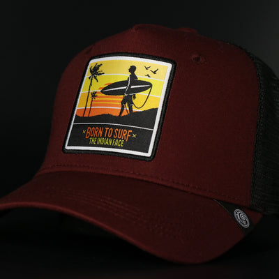 Born to Surf Red / Black