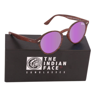 Brown Wood Urban Spirit - Gafas de Sol - The Indian Face