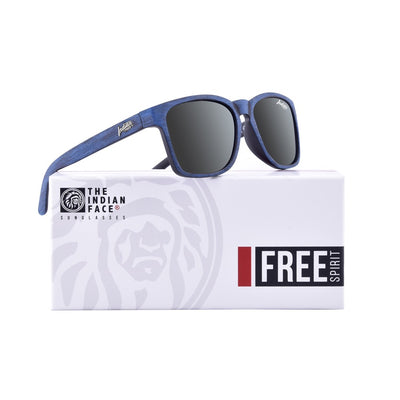 Free Spirit Blue Wooden