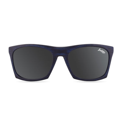 Gafas de Sol Polarizadas Barrel Blue Wooden 24-015-04