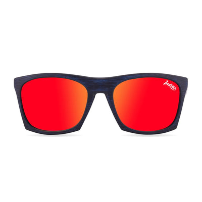 Gafas de Sol Polarizadas Barrel Blue Wooden 24-015-05