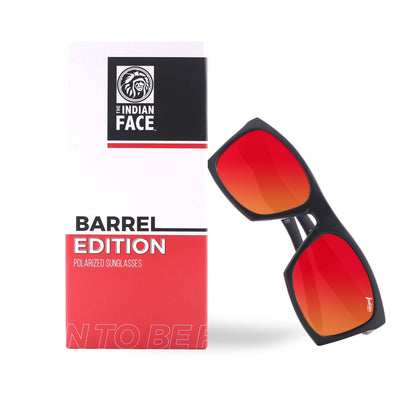 Barrel Black / Red