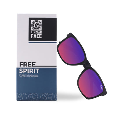 Free Spirit Black / Light Red