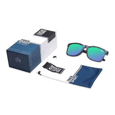 Free Spirit Blue Tortoise / Green
