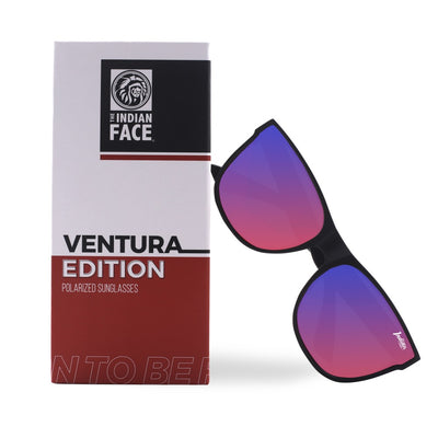 Ventura Black / Light Red