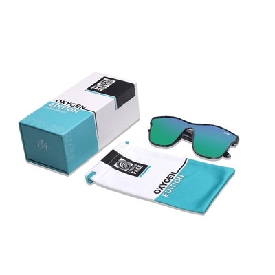 Oxygen Edition Blue Tortoise / Green
