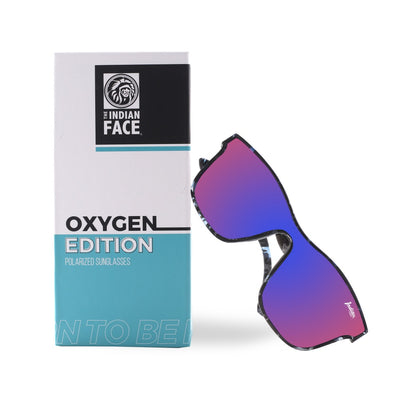 Oxygen Edizione Blue Tortoise / Light Red