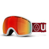 Ski glasses Vertical White / Red