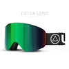 Gafas de Esqui Freeride V2 Black / Green
