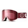 Ski Glasses Avalanche White / Cherry