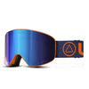 Skibrille Avalanche Orange / Blau
