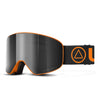 Skibrille Avalanche Orange / Schwarz