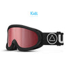 ສະກີ Goggles Storm Black / Cherry