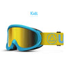 Skibrille Storm Blue / Yellow