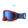 Skibrille Storm Red / Blue