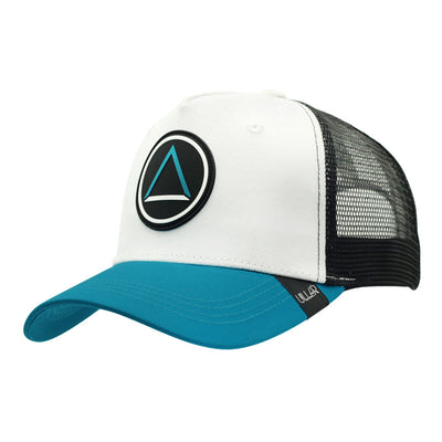 Gorras Northern White black and blue