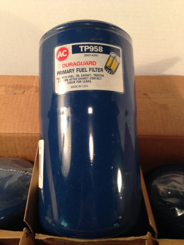 LOT OF 6 ACDelco TP958F Fuel Filter DURAGARD 2501431 Factory Sealed NOS Filters