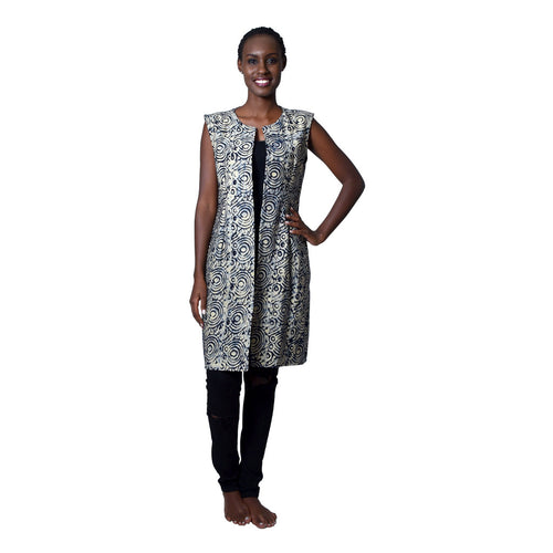 Women Dress Irebe Blazer by Uzi Collections on RONKOS