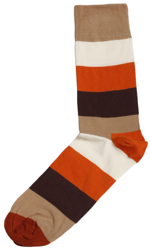 Men's Big Stripes Socks by SLAY Africa on RONKOS