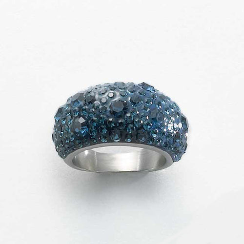 Women Jewellery Laima Blue Ring by MALKIA on RONKOS