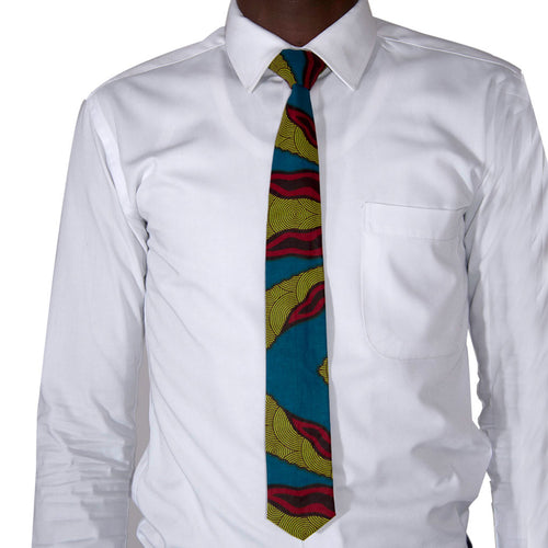 Men Accessories Tie Kitenge Tie by SILAS on RONKOS
