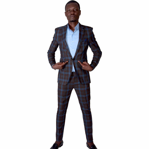 Men's Suits Casual Smart Fitted Suit by SILAS on RONKOS