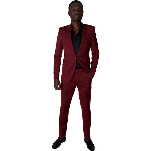 Men's Suits Casual Fitted Events Suit by SILAS on RONKOS