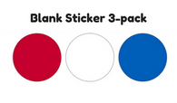 Sticker - Blank 3-pack