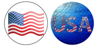 Sticker - Patriotic 2-Pack