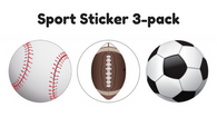Sticker - Sports 3-pack