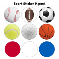 Sticker - Sports 9-pack