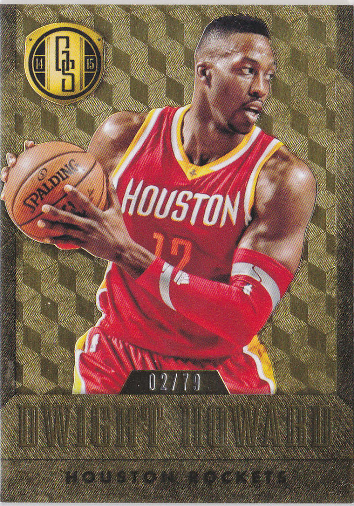2014-15 Panini Gold Standard Gold Parallel #102 Dwight Howard NM-MT+ C2 /79