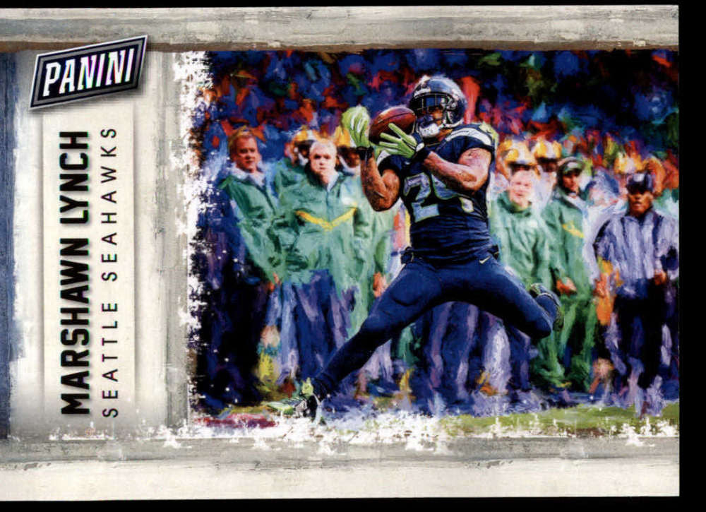 2015 Panini Father's Day Portraits #8 Marshawn Lynch MINT D1