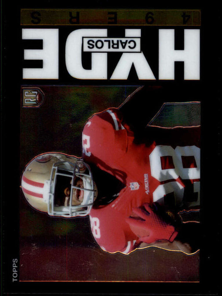 2014 Topps Chrome 1985 Topps #19 Carlos Hyde MINT a