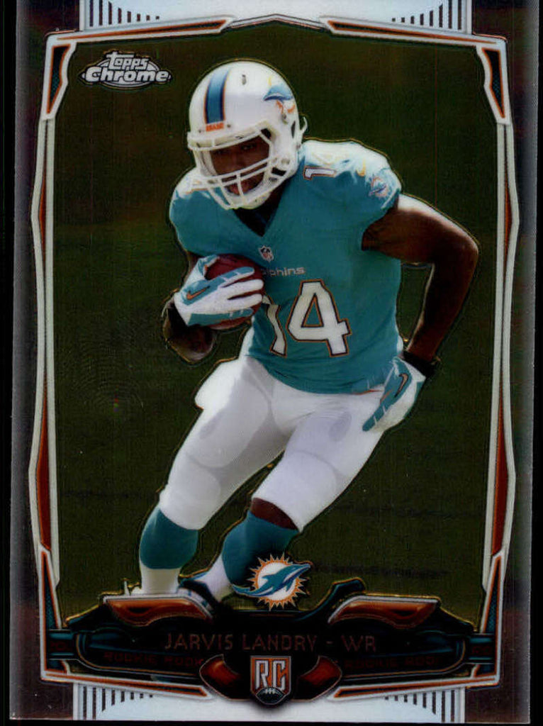 2014 Topps Chrome Rookies #177 Jarvis Landry MINT a RC Rookie