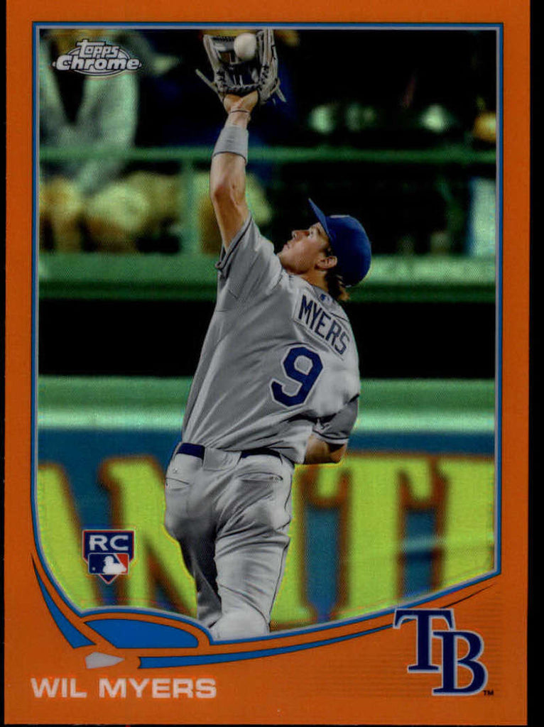 2013 Topps Chrome Orange Refractors #16 Wil Myers MINT a