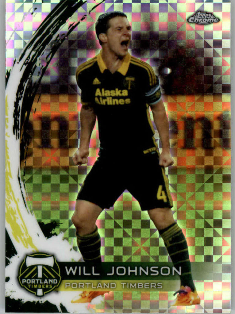 2014 Topps Chrome X-Fractor #8 Will Johnson NM-MT+ ck