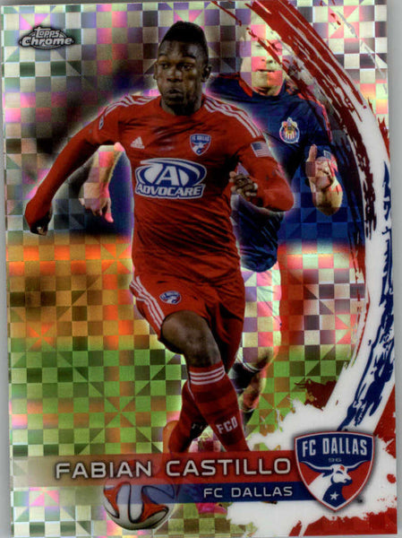 2014 Topps Chrome X-Fractor #63 Fabian Castillo NM-MT+ ck
