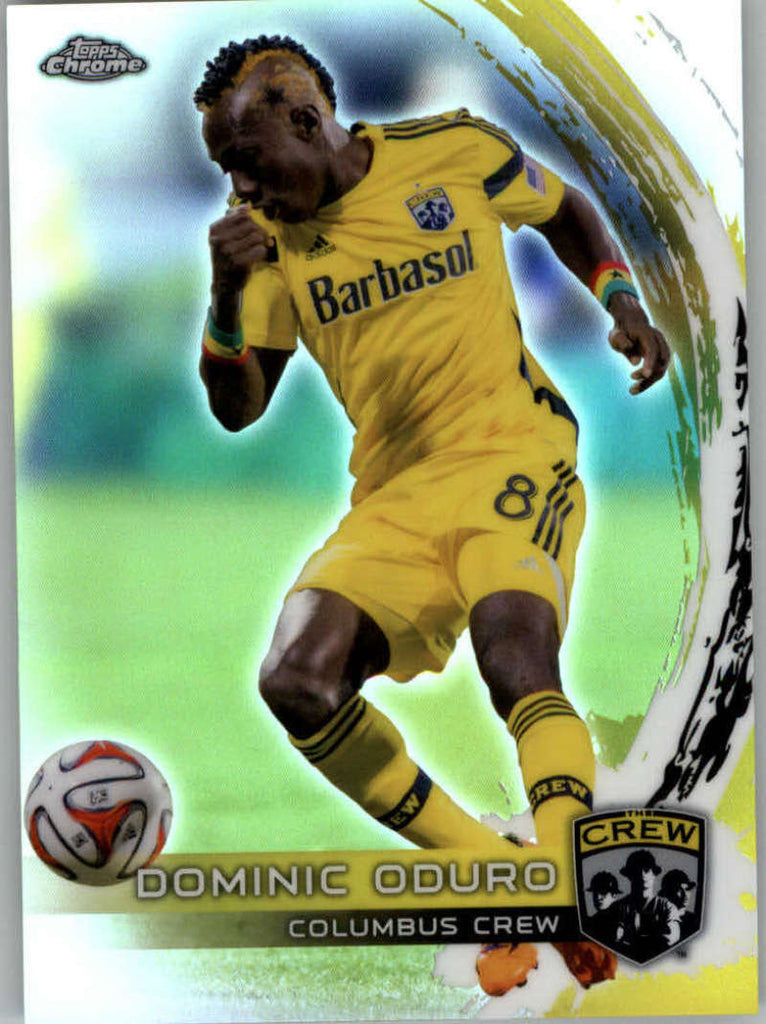 2014 Topps Chrome Refractor #16 Dominic Oduro NM-MT+ ck