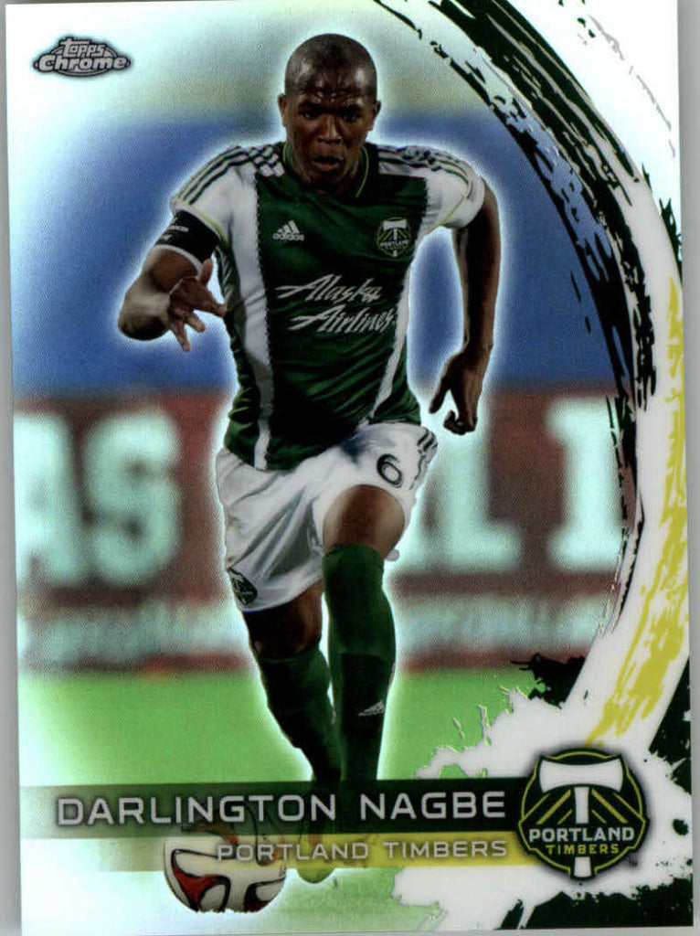 2014 Topps Chrome Refractor #18 Darlington Nagbe NM-MT+ ck